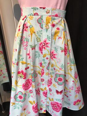 Button Skirt Parrot 🦜