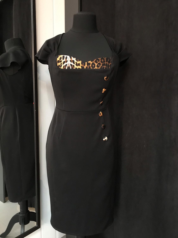 Sassy and tailored Zwart/Leopard
