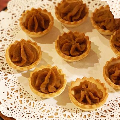 Box of 30 - Grandma's Momma's Legacy 'Licious sweet potato tarts