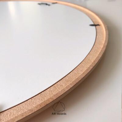MDF Round Element Round Frame Simple