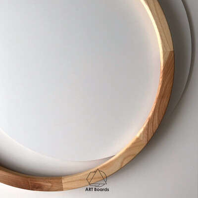 Solid Element Round Frame + Simple Board