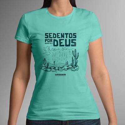 Camiseta ou Babylook feminina - CONJADEMA 2021