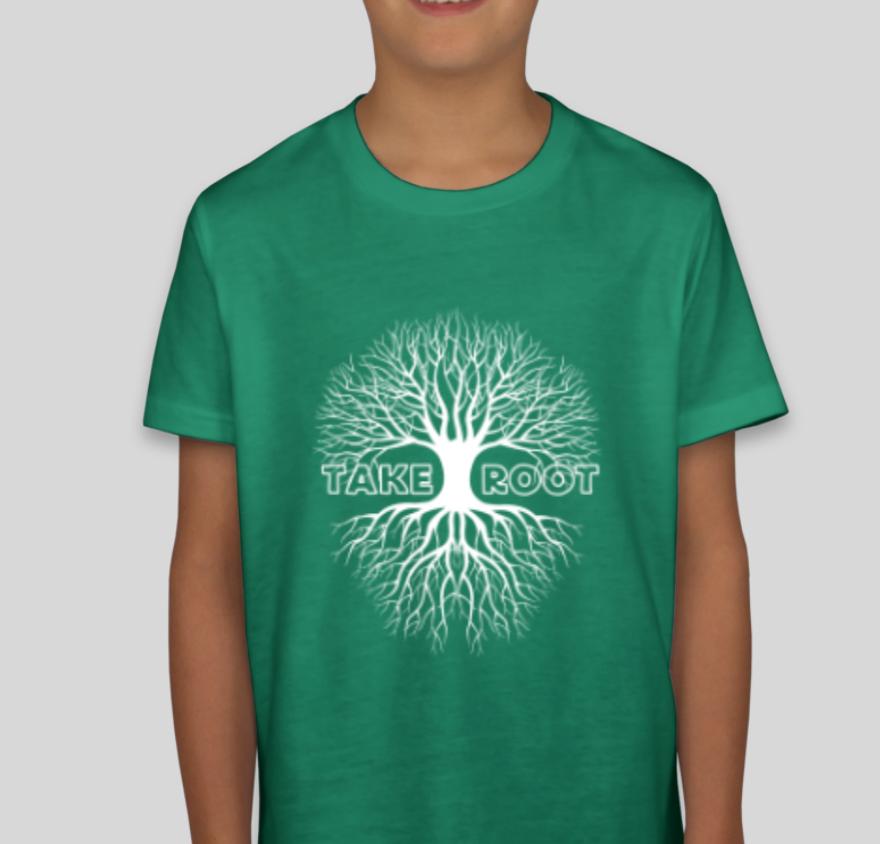 Kids Green TR T-Shirt