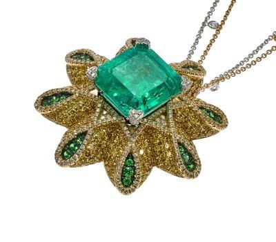 Emerald Flower
