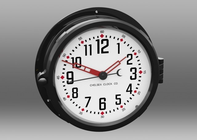 Patriot Colors Clock - 8.5