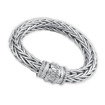Etruscan Heavy Woven Bracelet