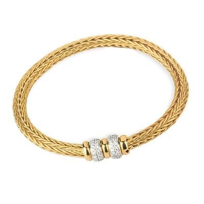 Etruscan Heavy Woven bracelet MC 1273 Z