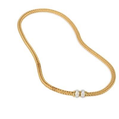 Etruscan Heavy Woven Necklace MC 1271 Z