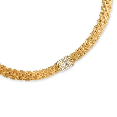 Etruscan Heavy Woven Necklace MC 6298 Z