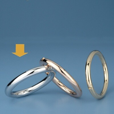 Bangles Oval shape - round tube OE 3421