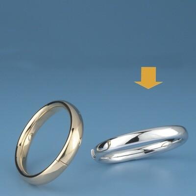 Bangles Oval shape - oval tube OE 3420
