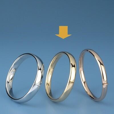Bangles Oval shape - oval tube ATE 495
