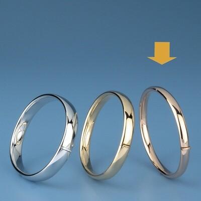 Bangles Oval shape - oval tube OE 1230