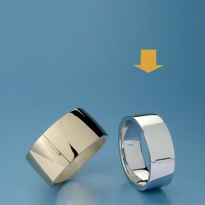 Bangles Oval shape - square tube MC 230