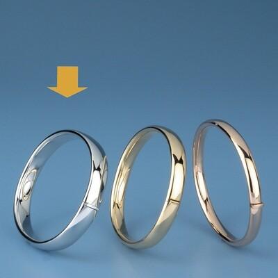 Bangles Oval shape - oval tube OE 3405
