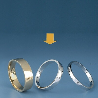 Bangles Oval shape - square tube ATE 503