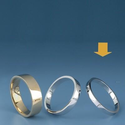 Bangles Oval shape - square tube ATE 492