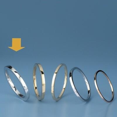 Bangles Oval shape - square tube OE 3432