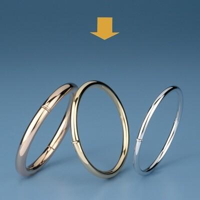 Bangles round shape - round tube OE 3408