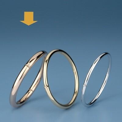 Bangles round shape - round tube OE 1333