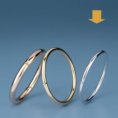 Bangles round shape - round tube OE 1185