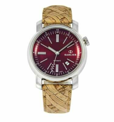 Grand Cru II (44 mm) Burgundy for Men