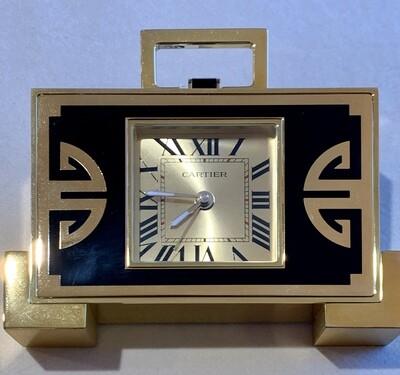 Cartier Decor Desk Clock Alarm