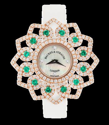 Backes & Strauss Victoria Brilliant Emerald Green