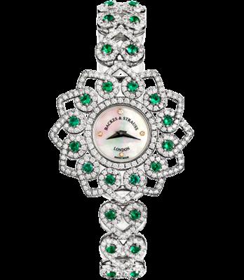 Backes & Strauss Princess Victoria Emerald Green