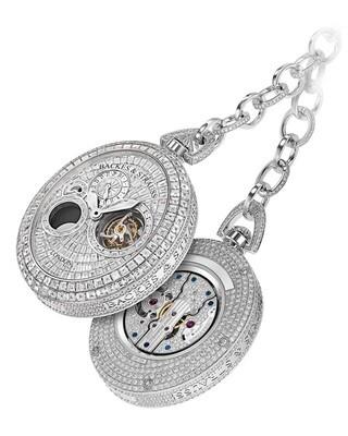 Backes & Strauss Regent Beau Brummell Tourbillon Pocket Watch 5058