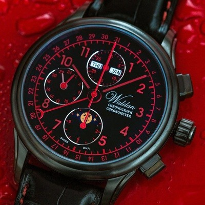 Chrono 42 DLC white/red