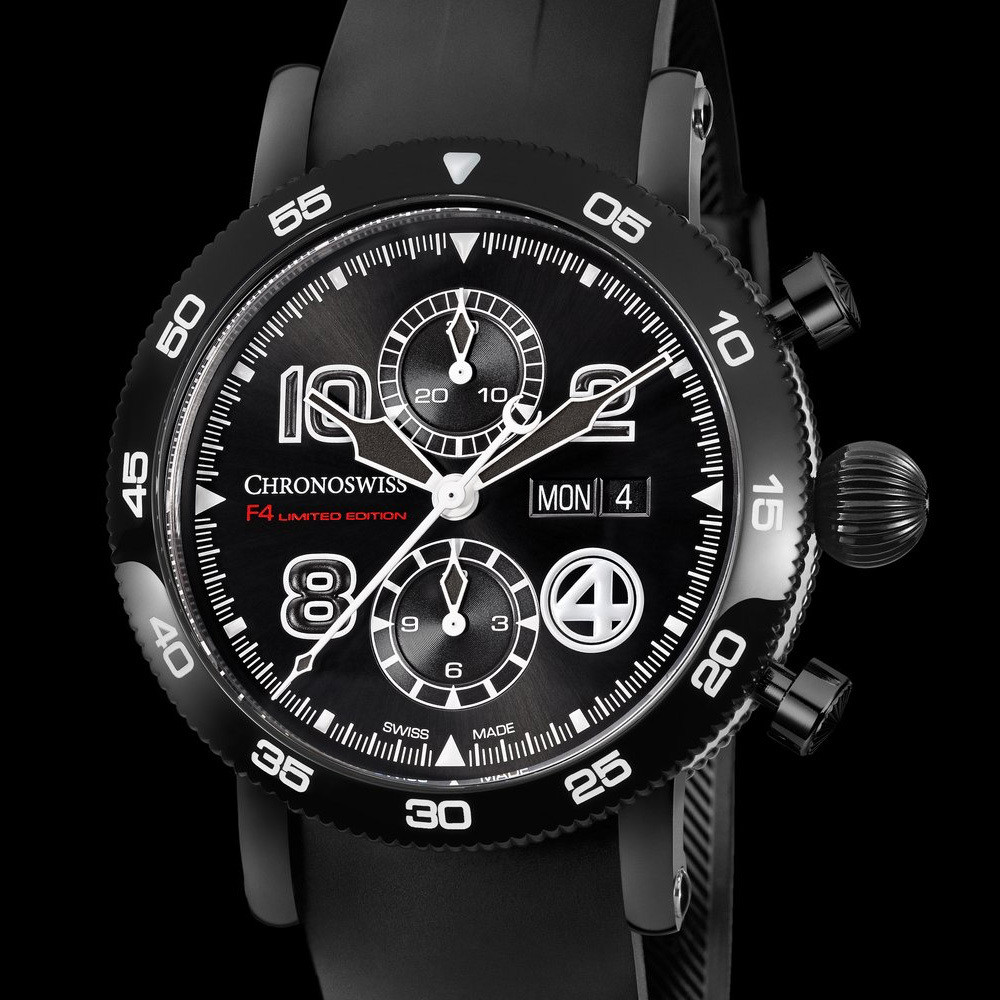 Chronograph Day Date F4 - Limited Edition