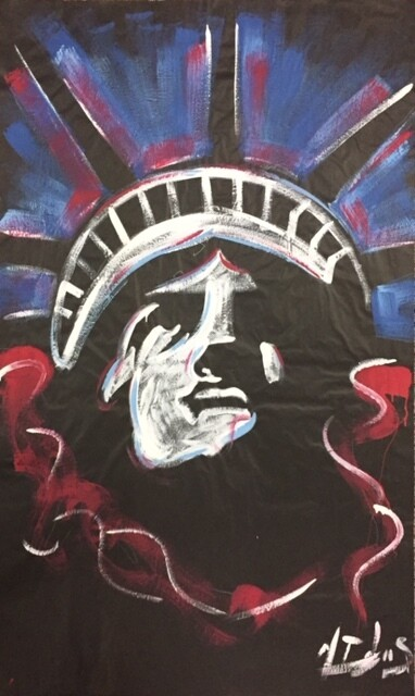 Statue of Liberty (White) Practice Piece