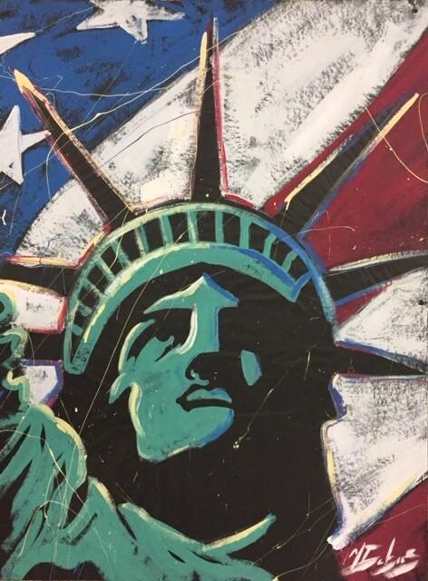 Statue of Liberty (Green) Practice Piece