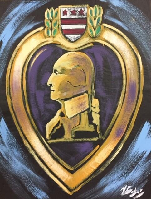 Purple Heart Practice Piece