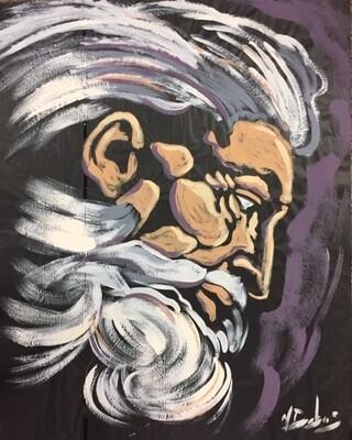 Face of God Practice Piece