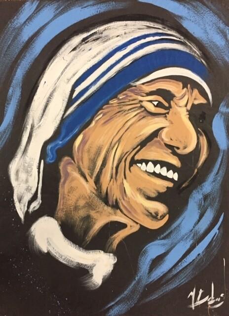 Mother Teresa Practice Piece