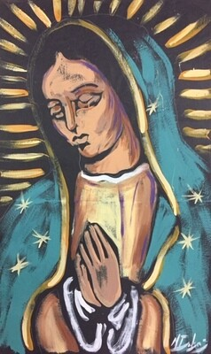 Our Lady of Guadalupe Practice Piece (PAPER)