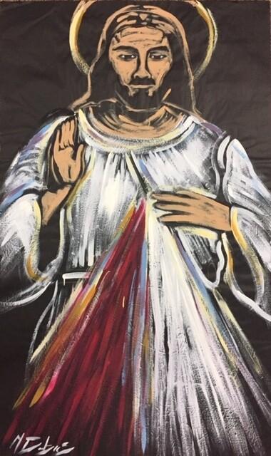 Divine Mercy Practice Piece