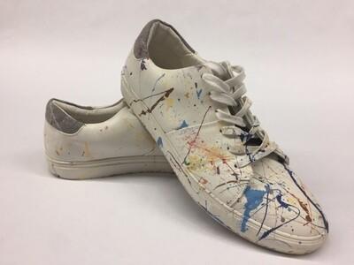 Express Men's Casual Shoe w/Paint Splatter