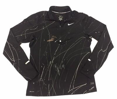 Nike Dri-fit Half Zip w/Paint Splatter