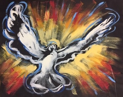 Holy Spirit (Horizontal) Practice Piece