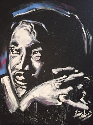 MLK (Original  on CANVAS)