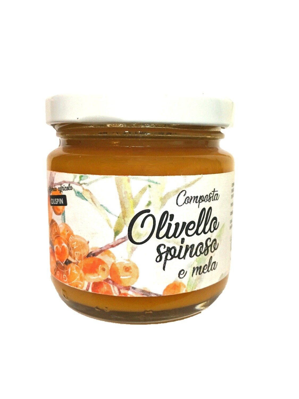 Composta di olivello spinoso e mela - 105 gr
