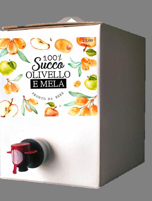 ESAURITO - Succo mela e olivello spinoso - Biologico - 2 l