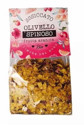 Essiccato BIO olivello spinoso e frutta d'arancia - 50 gr