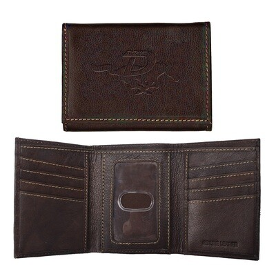 Trifold Wallet Coffee-741
