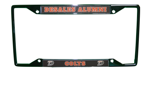 Alumni Laser License Plate Frame