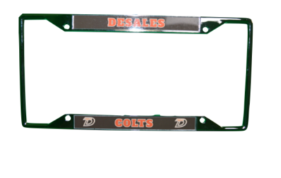 Laser License Plate Frame-509