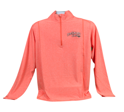 Orange Tempo 1/4 Zip (3X Is Grey) 766